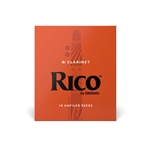 Rico Clarinet Reeds Box of 10 Strength #2.5