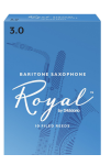 Rico Royal Bari Sax Reeds Box of 10 Strength #3