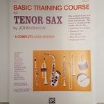 Basic Training Book 2: Tenor Sax