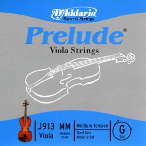 D'Addario Prelude Long Viola G String
