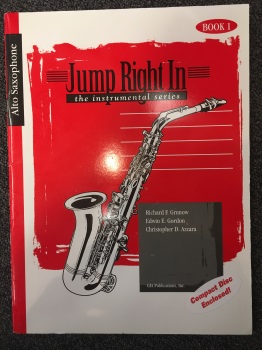 Jump Right In w/ CD: Alto Sax
