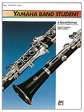 Yamaha Band Student Book 1 - Clarinet