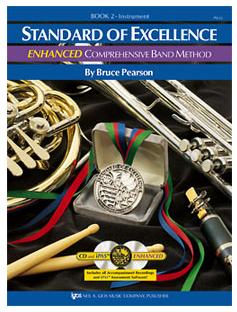 Standard of Excellence Enhanced Book 2 - Baritone B.C