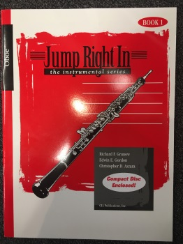 Jump Right In w/ CD: Oboe