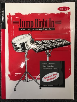 Jump Right In w/ CD: Percussion