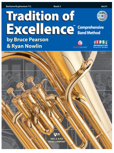 Tradition of Excellence Book 2 - Baritone/Euphonium TC