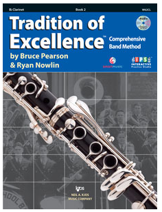 Tradition of Excellence Book 2 - Clarinet
