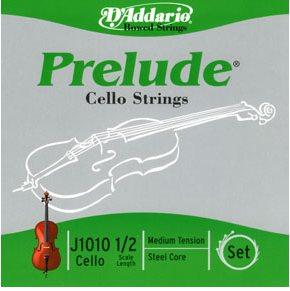 D'AddarioPrelude 3/4 size Cello Strings Set