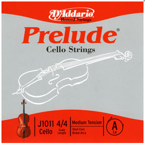 D'Addario Prelude Full Size Cello A String
