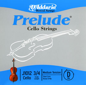Prelude 1/4 Cello D String