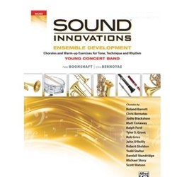 Sound Innovations: Ensemble Development, Young (GOLD): Bass Clarinet